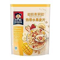Quaker 桂格 麦果脆热带水果麦片420g
