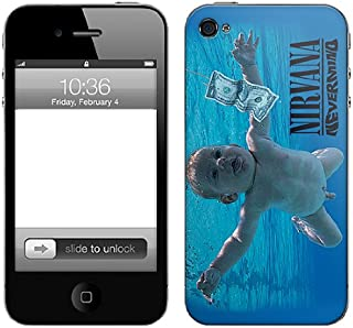 Zing Revolution Nirvana Premium Vinyl Adhesive Skin for iPhone 4/4S, Nevermind (MS-NRVA20133)