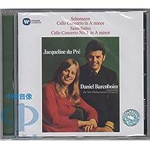 进口CD:经典再现-舒曼大提琴协奏曲&圣桑第—号大提琴协奏曲-杜普蕾&巴伦波伊姆 Original Jacket - Schumann: Cello Concerto - Saint-Saëns: Cello Concerto No. 1(CD)95775087