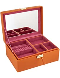 WOLF Heritage 小号首饰盒 橙色 小号 286411