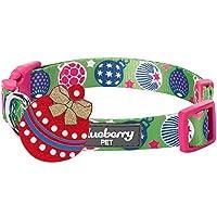 Blueberry 宠物圣诞狗项圈 - 常规项圈或个性化金属螺纹项圈 Sweet Fantasy Regular Collar - Large