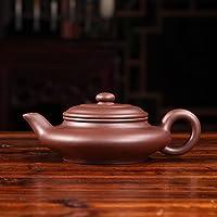 【虚扁】 国家助理工艺美术师周承花手工精制 宜兴紫砂茶壶茶具 收藏自用送礼佳品