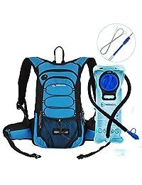 MIRACOL 水袋和長管刷水袋水壺水袋,隔熱水袋可保持4小時液體涼爽,非常適合遠足、露營的戶外裝備