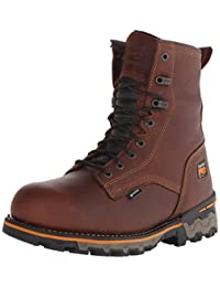 Timberland PRO Men's 8 Inch Boondock Soft Toe WP Work and Hunt Boot