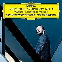 """进口CD:布鲁克纳第四交响曲""""浪漫""""&瓦格纳:罗恩格林序曲-尼尔森斯 Bruckner:Sym #4/Wagner:Prelude(CD)4797577"""