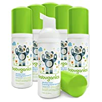 BabyGanics 无*精泡沫洗手液,无香味,包装或有不同 不含香料 6片装 10.14