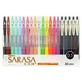 斑马 凝胶圆珠笔 SARASA CLIP 0.5 彩色 彩色20色套装