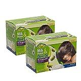 Sofn'Free Milk Protein & Olive Oil No-Lye Relaxer Kit Regular Kit - Pack of 2