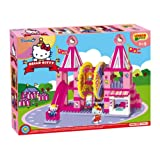 UNICO plus 维尼高布鲁斯 拼插玩具 凯蒂猫系列 游乐园 18个月-5岁 大颗粒兼容 8686-00HK