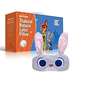 到手价199.5元 Taipatex泰国原装进口 天然乳胶婴儿花生枕 幼儿枕35cmx18cmx4cm(机智小兔子Judy )