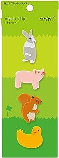 Midori 磁扣,4 件,农场动物(43327006)