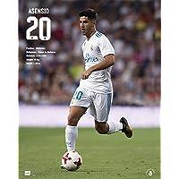 Grupo Erik Editores mpge0216 – 迷你海报 2017/2018 带Real Madrid Asensio设计,40 x 50 厘米
