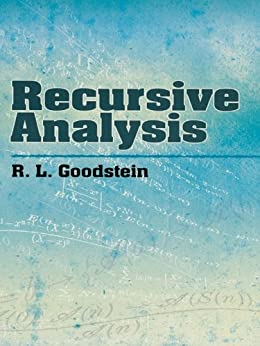 """Recursive Analysis (Dover Books on Mathematics) (English Edition)"",作者:[Goodstein, R. L.]"