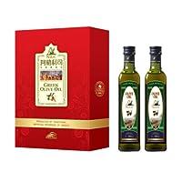 AGRIC阿格利司橄榄油新E型礼盒☆橄榄油500ml*2 (希腊进口)(gift box)(新老包装,随机发货)