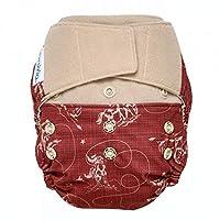 GroVia 可重复使用混合婴儿布尿裤钩环壳,均码 Tex 不适用