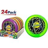 2GoodShop Frisbee 儿童户外玩具飞盘运动游戏与朋友一起玩 4 种样式 - 商品编号 1032 24片装