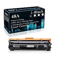 1 包 48A | CF248A 黑色兼容硒鼓替换件适用于 HP Laserjet Pro M15a M15w MFP M28a MFP M28w MFP M29w MFP M30w MFP M31w 打印机,由 TopInk 出售