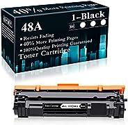 1 包 48A | CF248A 黑色兼容硒鼓替換件適用于 HP Laserjet Pro M15a M15w MFP M28a MFP M28w MFP M29w MFP M30w MFP M31w 打印機,由 Top