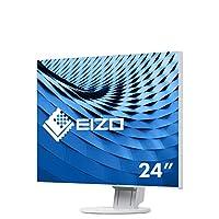 Eizo FlexScan 61.2 厘米(24.1 英寸) LED 显示器(350 ANSI 流明) 白色 61 cm (24,1 Zoll)