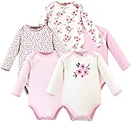 Touched by Nature 中性嬰兒*棉連體衣 Cherry Blossom Long-sleeve 5-pack 9-12 Months (12M)