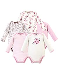 Touched by Nature 中性婴儿*棉连体衣 Cherry Blossom Long-sleeve 5-pack 9-12 Months (12M)