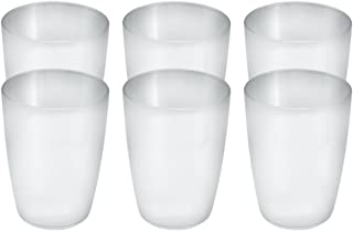 Coza Design 2020202/3009 耐用塑料杯,均码,水晶