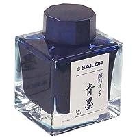 Sailor 写乐钢笔 瓶装墨水50毫升 青墨