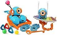 Wonder Workshop – Dot and Dash 机器人 奇迹套装 适合6岁以上儿童 – STEM 学习捆绑装 – 基于块的编码学习 –数字学习 – 挑战时间