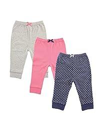 Luvable Friends 3件装锥形分裤