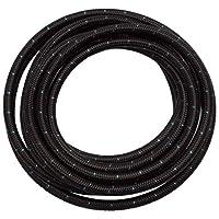 Edelbrock 632243 黑色布软管 #12,20 英尺