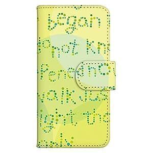 智能手机壳 手册式 对应全部机型 印刷手册 cw-099top 套 手册 文字 UV印刷 壳WN-PR125272-MX Disney Mobile on docomo SH-02G 图案C