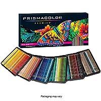 Prismacolor 三福霹雳马 150色铁盒彩铅套装 彩色铅笔 油性彩芯 松木笔杆 软质芯材