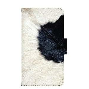 智能手机壳 手册式 对应全部机型 印刷手册 wn-008top 套 手册 动物 毛皮 UV印刷 壳WN-PR012136-M AQUOS PHONE 102SH 图案C
