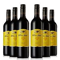 【亚马逊直采】 纷赋 黄牌梅洛干红葡萄酒750ml*6(亚马逊进口直采红酒,澳大利亚品牌) 自营精选