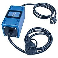 as - Schwabe 61747 MIXO 电源计数器,230 V,蓝色