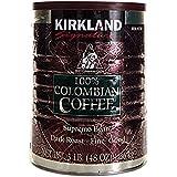 Kirkland柯克兰牌哥伦比亚咖啡粉1360g(亚马逊进口直采,美国品牌)