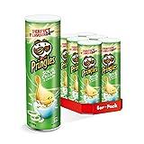 Pringles 品客薯片 芝士洋葱味 6包(6×190克)