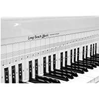 练习键盘和 note 图表适用于 behind THE PIANO 钥匙