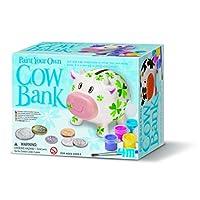 4M 创意手工系列 牛牛存钱罐 创意美术手工DIY玩具 进口