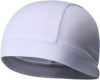 BESPORTBLE 吸汗头盔衬里冷却骷髅帽速干头盔硬帽衬里骑行跑步远足运动配件2件装(黑色深灰色)