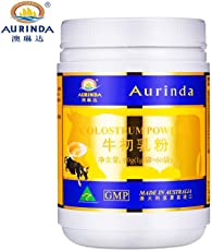 Aurinda 澳琳达 牛初乳粉 含免疫球乳铁蛋白澳洲牛初乳1g*60 含维生素AD(进口)