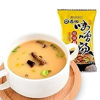SUBO 苏伯 珍珠蘑味噌汤9g一人份冻干即食速食汤日式风味进口味噌
