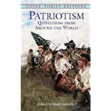 Patriotism: Quotations from Around the World (Dover Thrift Editions) (English Edition)