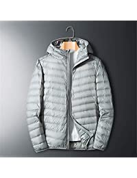 AOSENDUN 奥森盾 冬季男士羽绒服 90% 白鸭绒保暖男装外套 连帽轻便男上衣 A8707