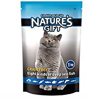 Nature's Gift 贵族 美短波斯田园天然粮八鱼海鲜1kg 全年龄通用型猫粮