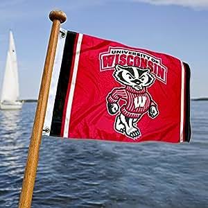 UW Badgers 船舶和航海旗