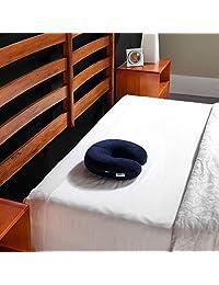 Tempur-Pedic TEMPUR-Travel 颈枕,柔软支撑,压力缓解,可适应舒适可清洗枕套,美国组装,5 年保修,*蓝