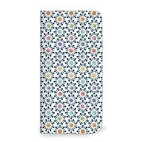 MITAS 翻盖式智能手机壳 水彩 金平糖 ブルー(ベルトなし) 3_Galaxy NoteII (SC-02E)