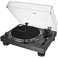 Audio-Technica 铁三角 – AT-LP140XP 专业直驱手动唱盘 – 黑色