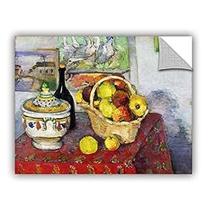 "ArtWall Paul Cezanne's Still Life with Tureen Art Appeelz Removable Graphic Wall Art, 18 x 24"""